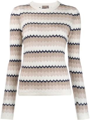 N.Peal Wave Stripe Sweater