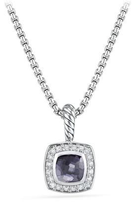 David Yurman Petite Albion Necklace with Gemstone and Diamonds