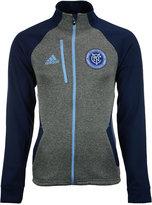 adidas Men's New York City FC Fleece Track Jacket