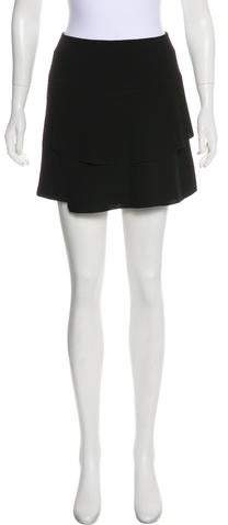 1 By Tiered Mini Skirt