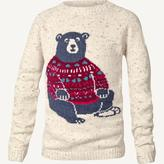 Fat Face Bear Jumper