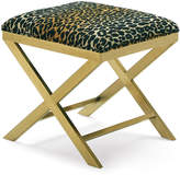 Massoud One-of-a-Kind Leopard X Bench