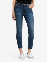 Calvin Klein Ultimate Skinny Flex Blue Ankle Jeans