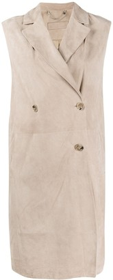 Desa 1972 Double-Breasted Sleeveless Coat
