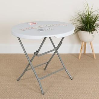 "Flash Furniture 31.25"" Round Folding Table"