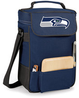 Picnic Time Duet Wine & Cheese Tote - Seattle Seahawks - Navy