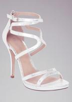 Bebe Ebony Strappy Evening Sandals