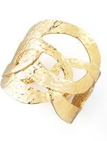 Sequin Cutout Cuff, Golden