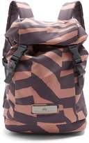 adidas by Stella McCartney Zebra-print buckle-detail backpack