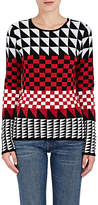 Altuzarra WOMEN'S SHINER GEOMETRIC-JACQUARD WOOL-BLEND SWEATER
