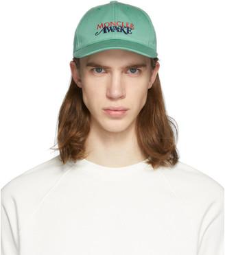 MONCLER GENIUS Green Awake Berretto Cap