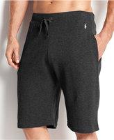 Polo Ralph Lauren Men's Loungewear, Solid Thermal Shorts