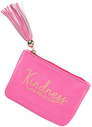Viv&Lou Women's Coin Purses Hot - Hot Pink 'Kindness Is Priceless' Coin Purse