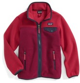 Patagonia Girl's Synchilla Snap-T Fleece Jacket