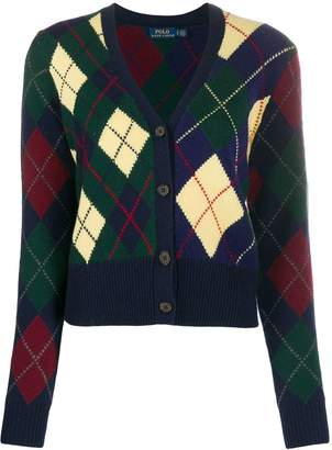 Polo Ralph Lauren argyle cardigan