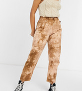 Thumbnail for your product : Reclaimed Vintage inspired The '92 original mom in grunge wash