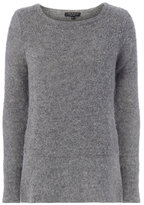 Rag & Bone Bea Suede Elbow Patch Sweater