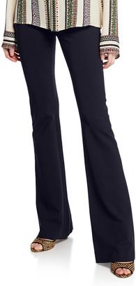 Derek Lam Alana Flare-Leg Pants, Black