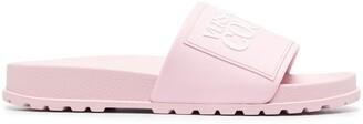 Versace Jeans Couture Logo Print Slides