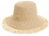 Eric Javits Women's 'Tiki' Bucket Hat - Blue