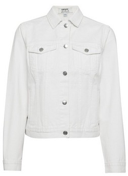 Dorothy Perkins Womens Ecru Organic Denim Jacket