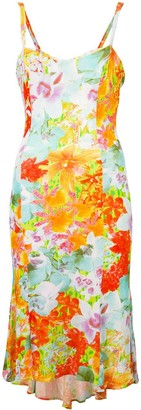 Versace Pre-Owned Floral Print Dress
