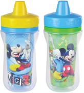 The First Years Disney Mickey Mouse & Friends 2-pk. Insulated Sippy Cups