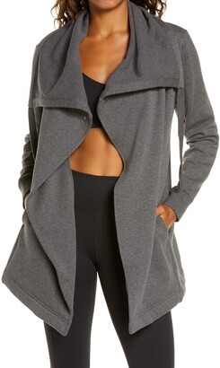 Zella Amazing Cozy Wrap Jacket
