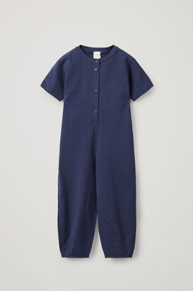 Cos Organic Cotton Oversized Jumpsuit