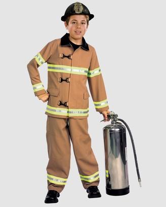 Rubie's Deerfield Fire Fighter Deluxe Costume - Kids