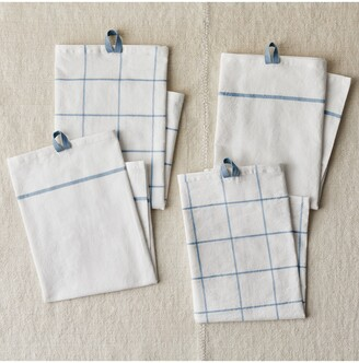 Five Two by Food52 FIVETWO Essential Set of 4 Flour Sack Kitchen Towels