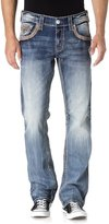 Rock Revival Mens Lowry J209 Straight Jeans