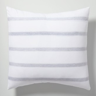 west elm Organic Washed Cotton Percale Bold Stripe Duvet Cover & Shams