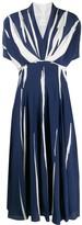 Paul Smith striped flared dress