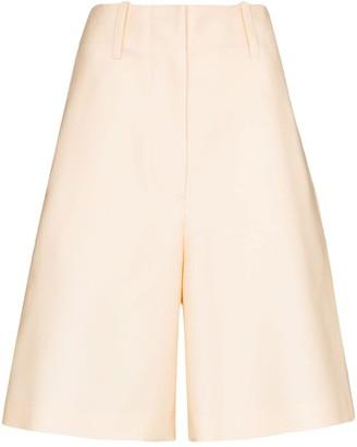 LVIR Wide Leg Knee-Length Shorts