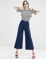 Asos Denim Super Wide Slouch Sally Jean