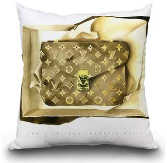 Louis Vuitton House of Hampton Golliday Bag Throw Pillow House of Hampton
