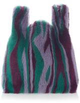 Simonetta Ravizza Flame Fur Tote