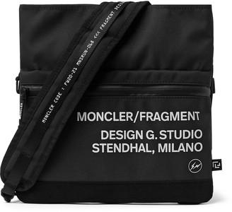 MONCLER GENIUS 7 Moncler Fragment Hiroshi Fujiwara Printed Woven Messenger Bag