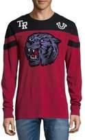 True Religion Tigers Head Cotton Pullover