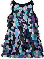 Milly Pailette-Embellished Sleeveless Dress