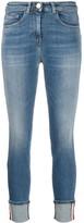 Elisabetta Franchi skinny turn-up jeans