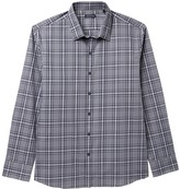 Zachary Prell Grey Plaid Regular Fit Shirt