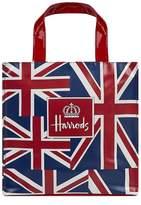 Harrods Small Vintage Flag Shopper Bag