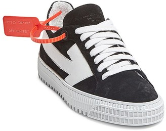 Off-White Arrow Suede Sneakers