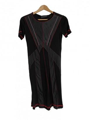 Diesel Black Gold Multicolour Dress for Women