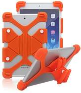 """Tsmine 7"""" ShockProof Case - Universal Soft Silicone Elastic Case Stand Handle Cover"""