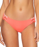 Thumbnail for your product : Becca Crochet-Trim Hipster Bikini Bottoms Women's Swimsuit