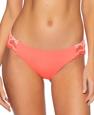 Becca Crochet-Trim Hipster Bikini Bottoms Women's Swimsuit