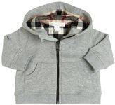 Burberry Hooded Cotton Sweatshirt